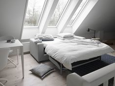 Stockholm Sofa bed;