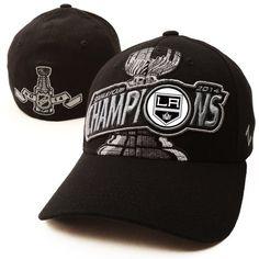 san francisco 0281e 4fa14 Los Angeles Kings Zephyr 2014 Stanley Cup Champions Z-Fit Flex Hat - Black