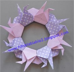 Crane, Origami And Quilling, Paper Folding, Amazing Art, Projects To Try, Paper Crafts, Scrapbook, Paper Sculptures, Creative