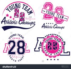 college champs athletics league sport artwork for apparel