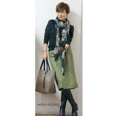 いいね!179件、コメント9件 ― Seiko Nakaharaさん(@seiko.nakahara)のInstagramアカウント: 「昨日のショッピング同行の時のコーデです。 #今日のファッション #ファッション#今日のコーデ #コーディネート#スタイリング#大人カジュアル #綺麗めカジュアル…」