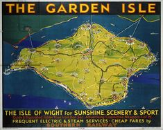 Poster produced for Southern Railway (SR) to promote the railways electric and steam services and cheap fares to the Isle of Wight Photo Puzzle Pieces) Framed, Poster, Canvas Prints, Puzzles, Photo Gifts and Wall Art Railway Posters, Travel Posters, London Underground Train, Tube Train, Heritage Railway, London Transport Museum, British Family, National Railway Museum, Southern Railways