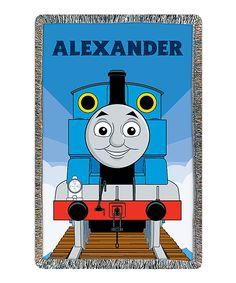 Thomas & Friends Personalized Throw
