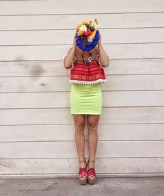 DIY Costume: Carmen Miranda / Chiquita Banana Lady