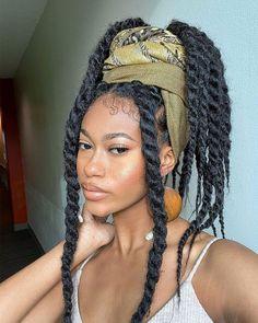 Marley Twist Hairstyles, Senegalese Twist Hairstyles, Faux Locs Hairstyles, Black Girl Braided Hairstyles, Black Girl Braids, Baddie Hairstyles, Protective Hairstyles, Protective Styles, Jumbo Senegalese Twists