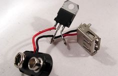 If your looking for a neat DIY project this weekend then this DIY 9V Battery USB charger could be a fun gadgets to create. With only using a few components : a 9V battery, female USB port from an old PC and a small 5v regulator