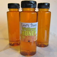 Wildflower Honey 12 oz Squeeze Bottle with Flip Cap by LeesBeesNJ, $6.50    Here it is! A fresh batch of delicious Lees Bees honey. 12 oz. PETE sealed plastic squeeze bottle with a flip cap filled with delicious, nutritious New Jersey wildflower honey. Never pasturized, never filtered. Just spun out of the honeycomb, run through a strainer, and put straignt into the bottling tank.