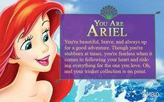 I took Zimbio's 'Little Mermaid' quiz and I'm Ariel! Who are you? #ZimbioQuiznull - Quiz