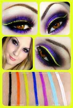 Ronnie's show-stopping look using the Citreuse eyeliner!     Lime Crime Eyeliners are available at: http://www.limecrimemakeup.com/categories/Eyeliners/