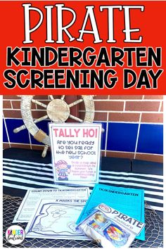 Looking for a way to assess and get to know your incoming students before they start school? A Kindergarten Screening Day is just what you need! It's a fun way to assess letter names and sounds, one-to-one correspondence, oral counting, sight words, name writing, and other skills. The information is very useful in creating balanced classrooms that support student learning. This pirate-themed resource does all of this and more!