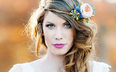 Couronnes de fleurs: 10 idées pour une coiffure de mariée