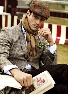 Gentleman style by David Gandy Sharp Dressed Man, Well Dressed Men, David Gandy, Mode Masculine, Style Masculin, Classic Man, Classic Style, Gentleman Style, Looks Style