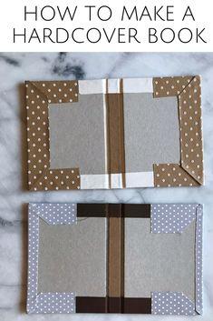 Book binding - hard cover DIY