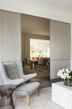 NOTE: exposed chair arms, full length mirror.    Gallery | Australian Interior Design Awards