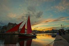 Galway hooker at The Cladagh
