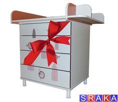 Wickeltisch SRAKA Super, Toy Chest, Storage Chest, Nightstand, Cabinet, Furniture, Home Decor, Amazing, Clothes Stand