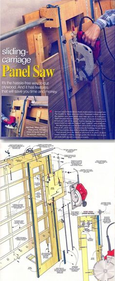 Panel Saw Plans - Circular Saw Tips, Jigs and Fixtures | WoodArchivist.com