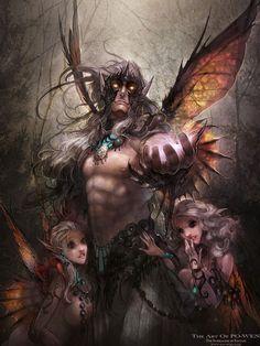 dark elf art - Google Search