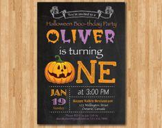 Personalised Halloween Party Invitations N Amazoncouk - Halloween birthday invitations uk