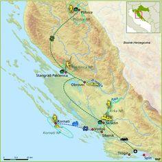 Kroatië - Nationale Parken | autorondreis langs Dalmatische kust en bergen