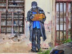 recent work in Athens by artist bleeps