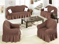 Couch and Loveseat Slipcovers - Home Furniture Design