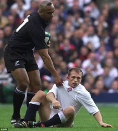 Jonah Lomu was a rugby freak who we all loved. This feels like a death in the family - Sir Clive Woodward Rugby League, Rugby Players, Love Is All, Love Him, Quade Cooper, Lawrence Dallaglio, Jonah Lomu, Batting Order, Martin Johnson