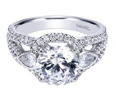 This Gabriel & Co. Engagement Ring could be all yours!