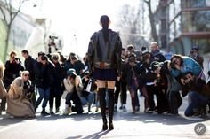 it's surreal. #MingXi & the photographers in Paris. #offduty