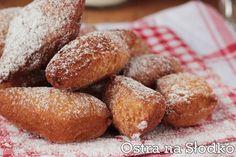 SODZIAKI - RACUSZKI ŚMIETANOWE Polish Recipes, Polish Food, Something Sweet, Pretzel Bites, Mozzarella, Feta, Bread, Living Room, Polish Food Recipes
