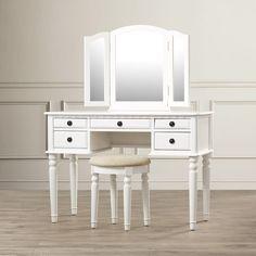 Edgar Vanity Set with Mirror