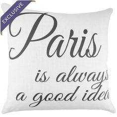 Paris Pillow - Breakfast at Tiffany's on Wayfair