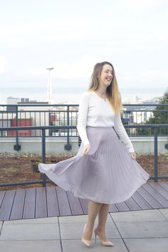 How to Find The Perfect Midi-Skirt