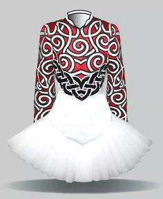 Elevation Irish Dance Solo Dress Costume.  Clean, classic.  It stands out in the crowd by how simple it is.