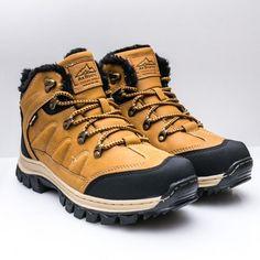 Ghete imblanite barbati galbene Seniomi -rl Hiking Boots, Casual, Shoes, Fashion, Moda, Zapatos, Shoes Outlet, Fashion Styles, Shoe