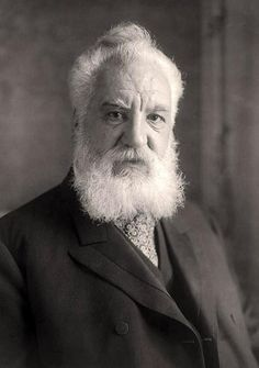Alexander Graham Bell (1847-1922). Scottish-born American scientist best known as the inventor of the telephone.