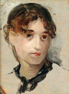 Eva Gonzalès (1849–1883) | self portrait