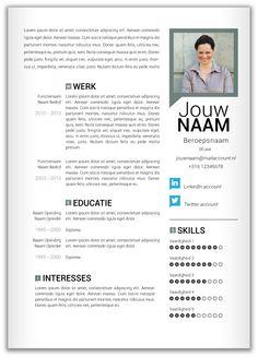 cv afkorting 40 beste afbeeldingen van CV   Resume, Curriculum en Resume Design