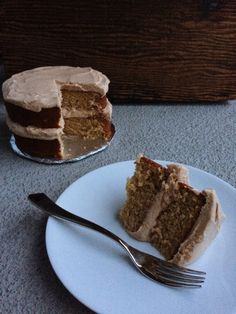 You should try this recipe if you enjoy tahini. You should also try this recipe if you're kind of impartial to tahini - the moistness and flavour work really well together, especially with a new spin on cream cheese frosting! Cream Cheese Frosting, Tahini, Celebration Cakes, Tiramisu, Ethnic Recipes, Desserts, Food, Shower Cakes, Tailgate Desserts