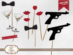 James Bond Party Invitation by PretaPapier on Etsy