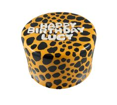 Hand Painted Cheetah Print Cake Pinterest
