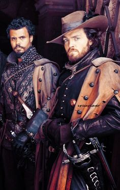 The Musketeers - Series II photos via imagebam: 2x03 *Spoilers* (crop and colour edit) Porthos & Athos