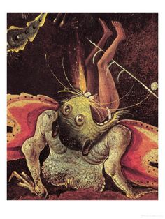 The Last Judgement, Detail of a Man Being Eaten by a Monster, circa 1504 Giclee Print