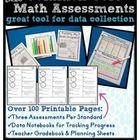 3rd Grade Common Core Math Assessment Packet