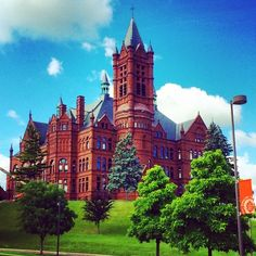 Crouse College (Instagram photo by @nora_keefe)