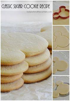 Classic Sugar Cookie Recipe | This tender cookie is everyone's favorite.