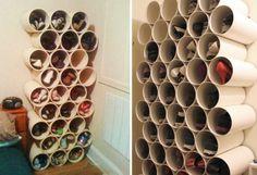 sapatos tubos de PVC