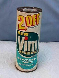 Vim. Mum used for our sink.
