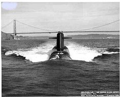 The 41 for Freedom were what the original 41 ballistic missile submarines were called. These S5W boats carried 16 missile tubes, 4 torpedo tubes, and established the original stealth platform. Succeeded by the Ohio Class boomer, the only two examples of this class remaining are the Moored Training Ships, 626 and 635 at NWS Charleston, SC.