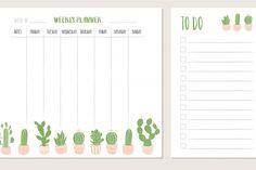 Study Planner, Weekly Planner, Free Printable Calendar, Free Printables, Writing Paper, Banner, Bullet Journal, How To Plan, Studio